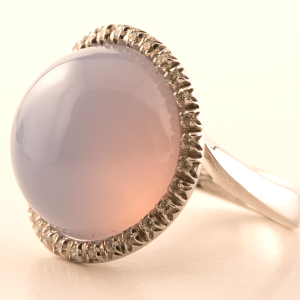 rose sidestones ring pink cushion detailmain rings cabochon main agate in cut with diamond lrg phab gold engagement