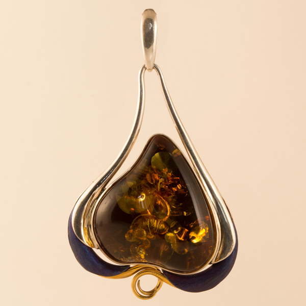 stauer com amber item pendant teardrop necklace